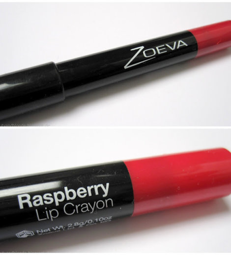 Zoeva Lip Crayon Raspberry
