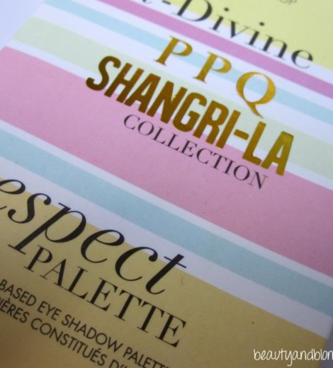 [Sleek Swatches] Shangri-La Collection Respect Palette