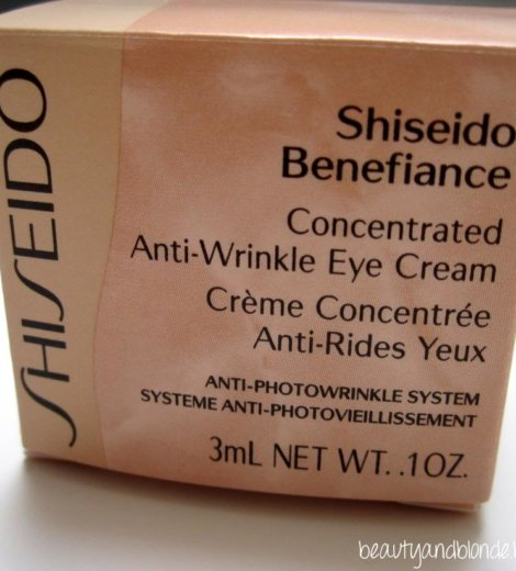 [Pröbchen] Shiseido Benefiance … EyeCream