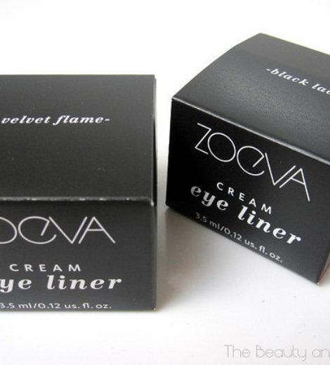 Zoeva Geleyeliner Black Lace & Velvet Flame