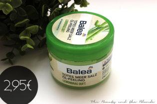 Balea Totes Meer Salz Öl – Peeling