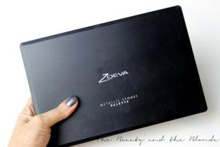 Zoeva Metallic Stones Palette | Review & Swatches