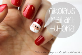 Nikolaus Nail Art Tutorial