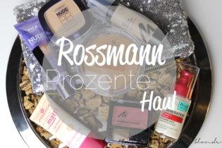 Rossmann Prozente Haul