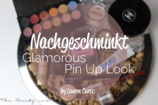 Nachgeschminkt | Glamorous Pin Up Look