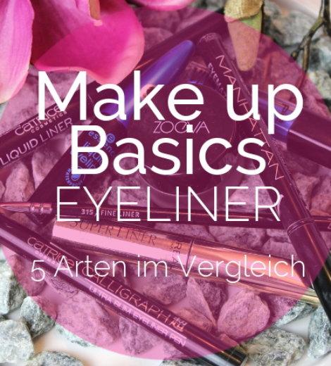 Eyeliner – 5 Arten im Vergleich (+ kleines How-To)
