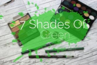 7 shades of … green!