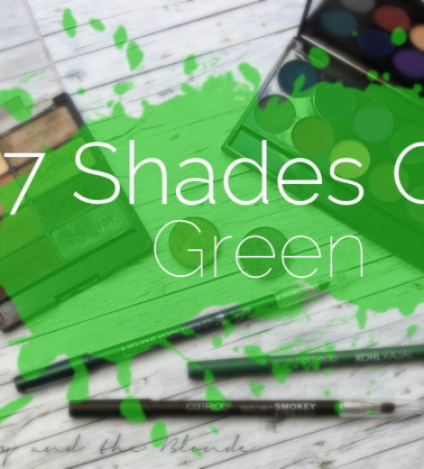 7 shades of … green!