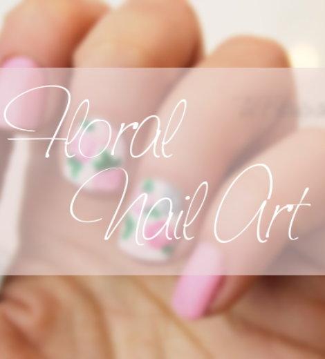 Ready, Set, Pooooliiish – Floral Nailart