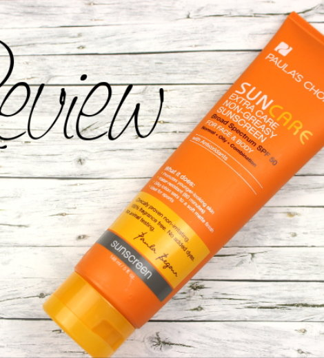 Paula's Choice Extra Care Non-Greasy Sunscreen SPF 50 *