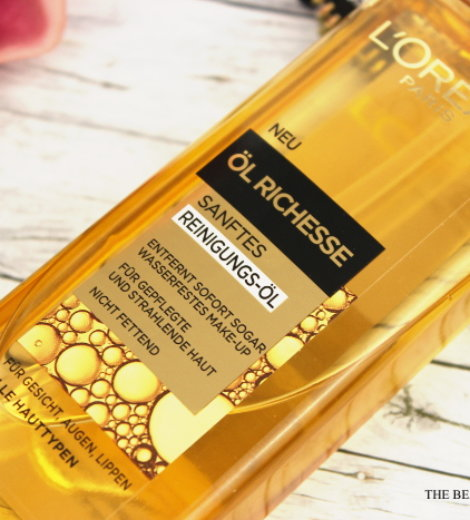 Worth the hype? | L'Oréal Öl Richesse Reinigungsöl