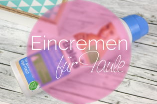 Eincremen für Faule: Balea Spray on Bodylotion
