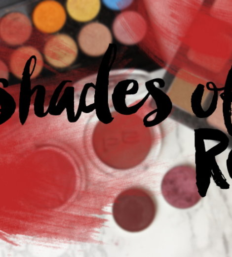 7 shades of … red!