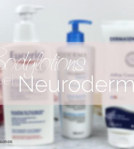 Bodylotions bei Neurodermitis und atopischer Haut