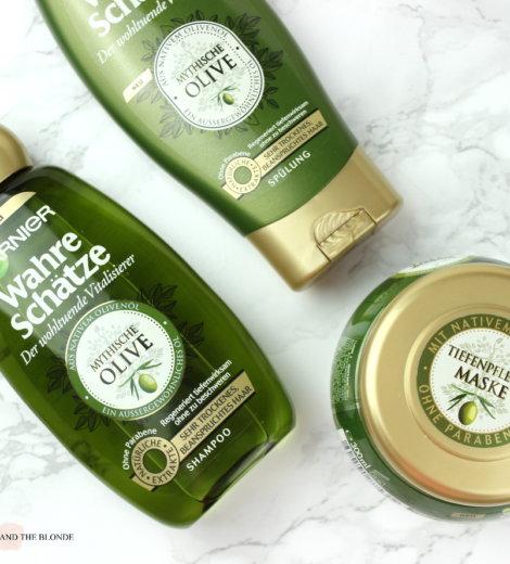 Garnier Wahre Schätze Mythische Olive Pflegeserie