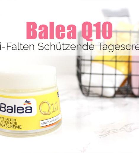 Günstiger Sonnenschutz aus der Drogerie: Balea Q10 Tagescreme LSF30