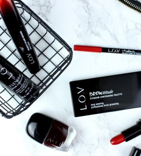 First impressions: L.O.V Cosmetics
