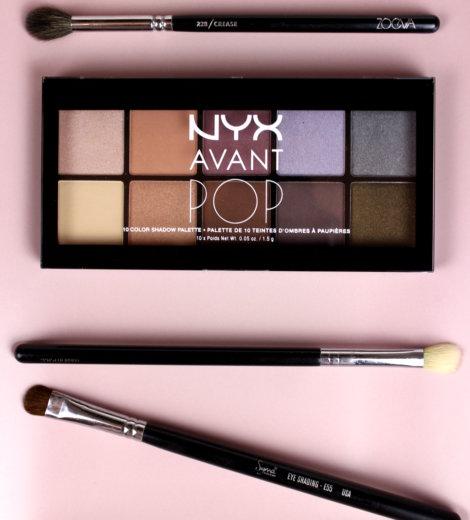NYX Avant Pop Palette Nouveau Chic