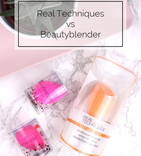Real Techniques Sponge vs. Beautyblender