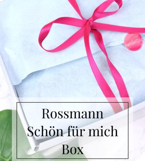 Rossmann Schön für mich Box Januar 2017