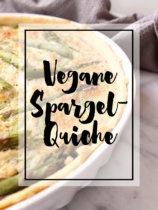 Vegane Spargel-Quiche