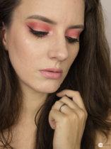 Eine Palette, vier Looks  Limecrime Venus I: Daytime Red