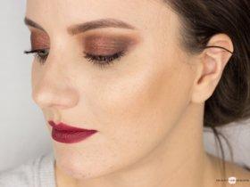 Eine Palette, vier Looks  Lorac Pro 1 – Fall Makeup Look