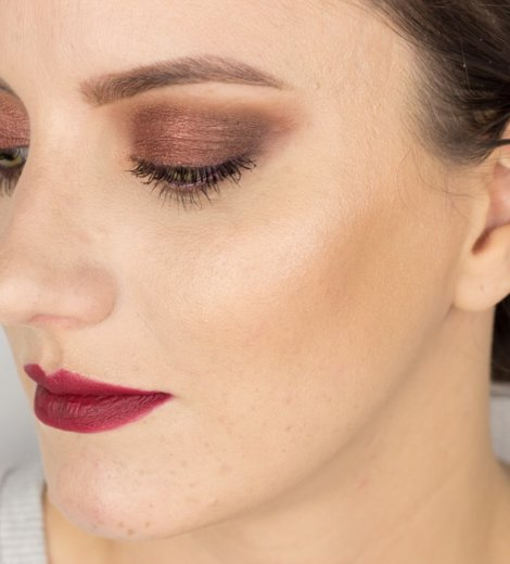 Eine Palette, vier Looks </br> Lorac Pro 1 – Fall Makeup Look