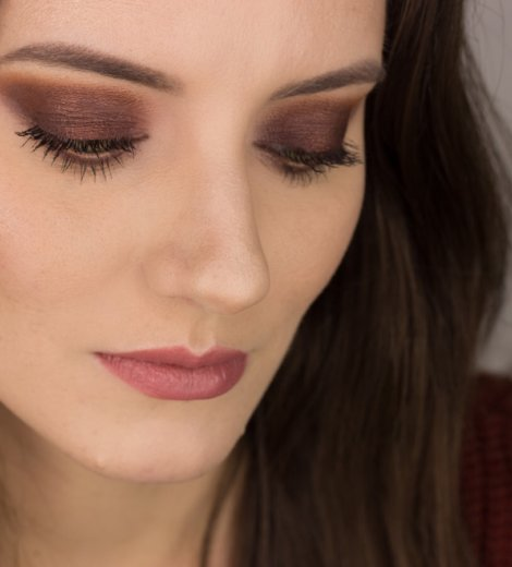 Eine Palette, vier Looks <br /> Naked Heat – Maroon Eyes