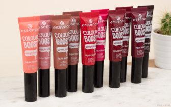 essence Update Frühjahr 2018  colour boost vinylicious liquid lipsticks