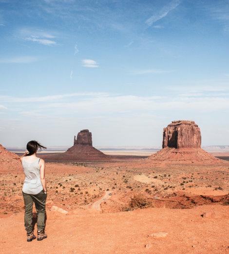 Monument Valley <br/> Willkommen im wilden Westen