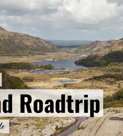 2 Wochen Roadtrip Irland </br> Unsere Reiseroute