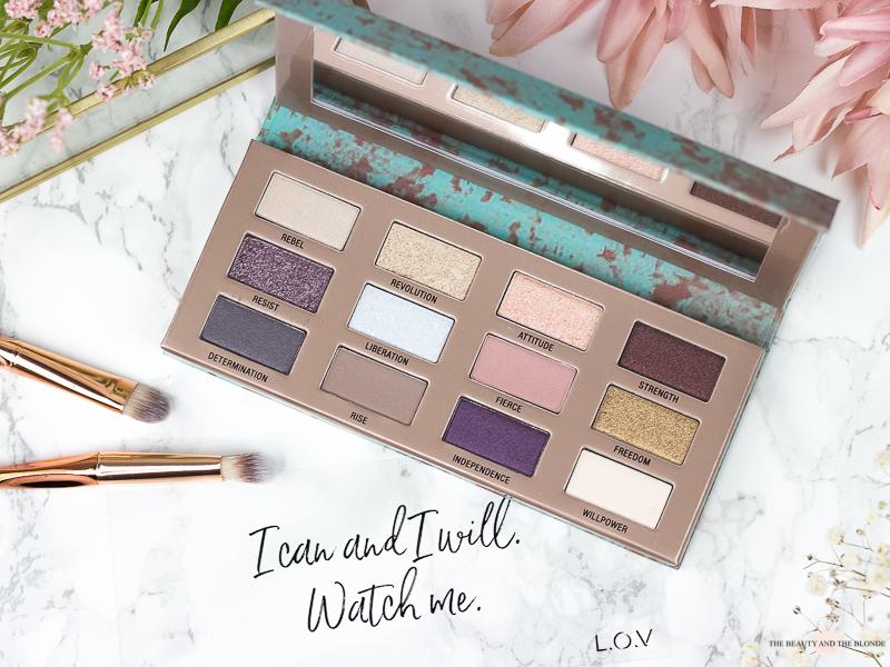 LOV Matte x Metallic Lidschatten Eyeshadow Palette Drogerie Drugstore Review