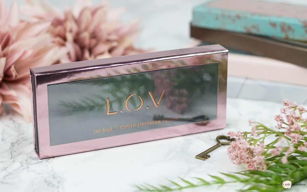 L.O.V The Rose X Copper Eyeshadow Palette Review
