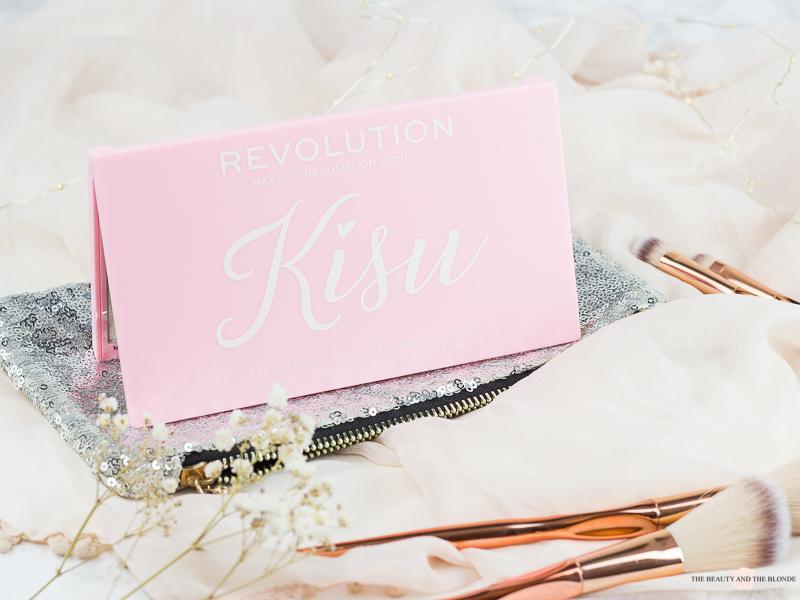 Kisu Palette Makeup Revolution Lidschatten Rossmann Review