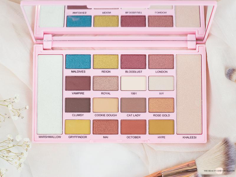 Kisu Makeup Revolution Lidschatten Palette Rossmann Review