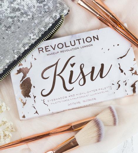 Kisu x Makeup Revolution Palette