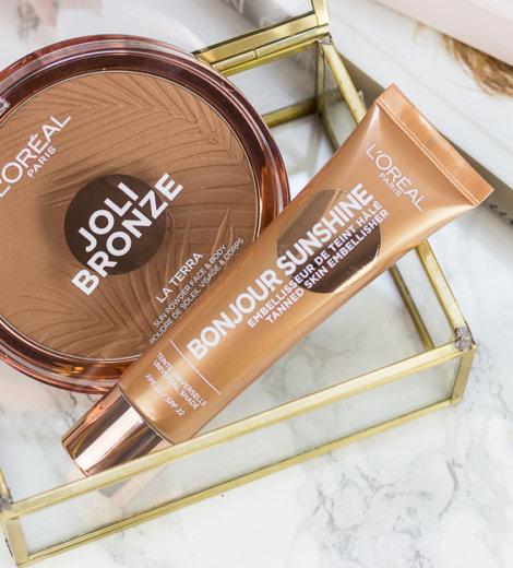 L'Oréal Joli Bronze La Terra Bronzer & Bonjour Sunshine Liquid Bronzer