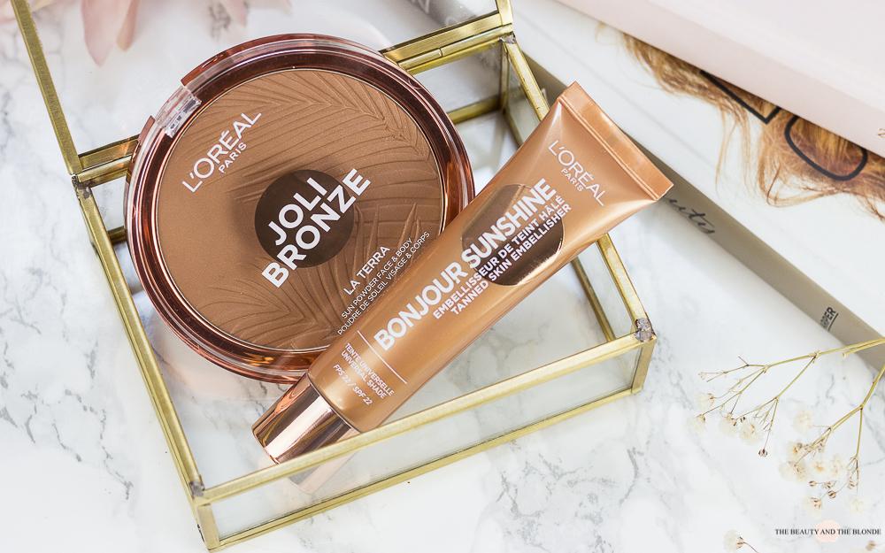 L'Oréal Joli Bronze La Terra Bronzer Bonjour Sunshine Liquid Bronzer