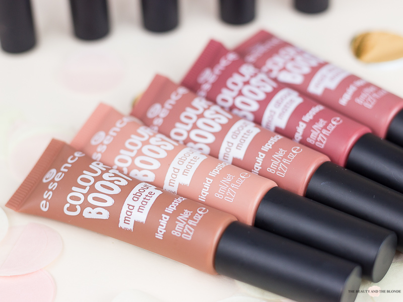 essence mad about matte liquid lipsticks review