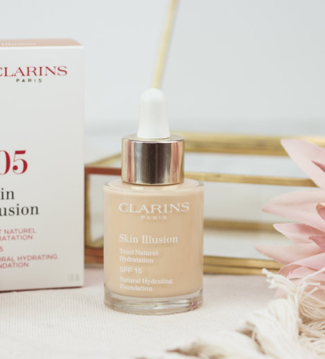 Clarins Skin Illusion Natural Hydrating Foundation (105)