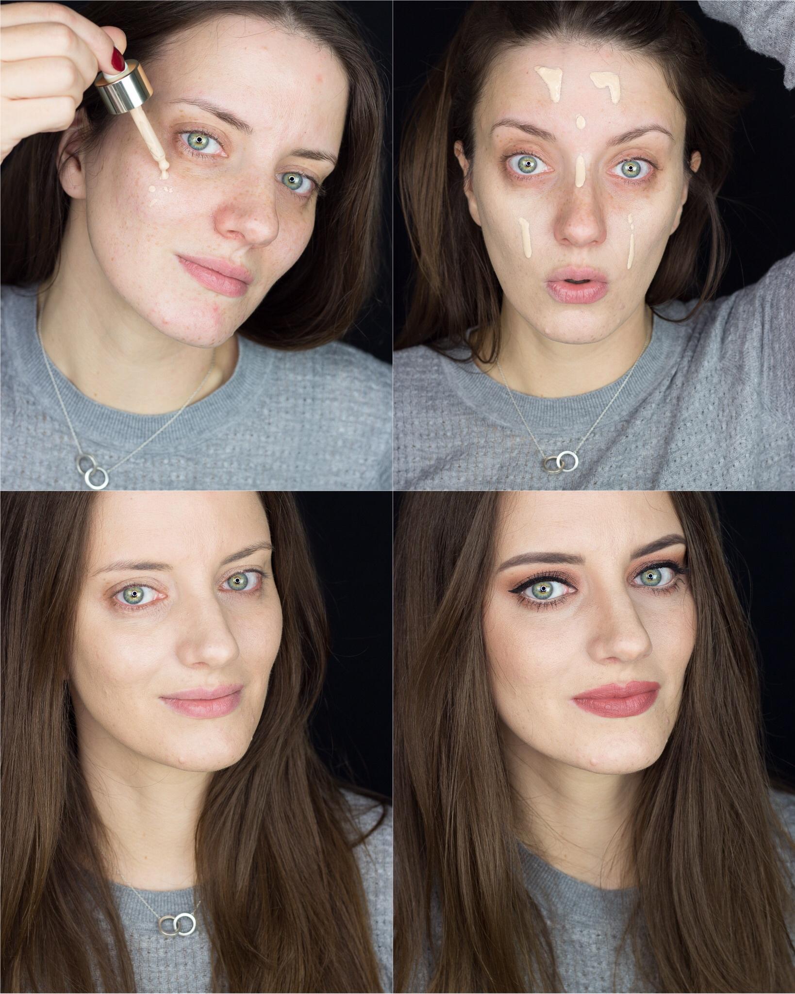 Clarins Skin Illusion Foundation Aufgetragen