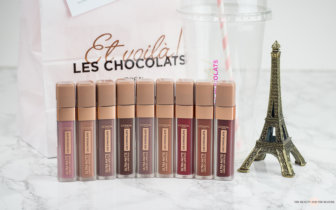 L'Oréal Les Chocolats Ultra Matte Liquid Lipsticks