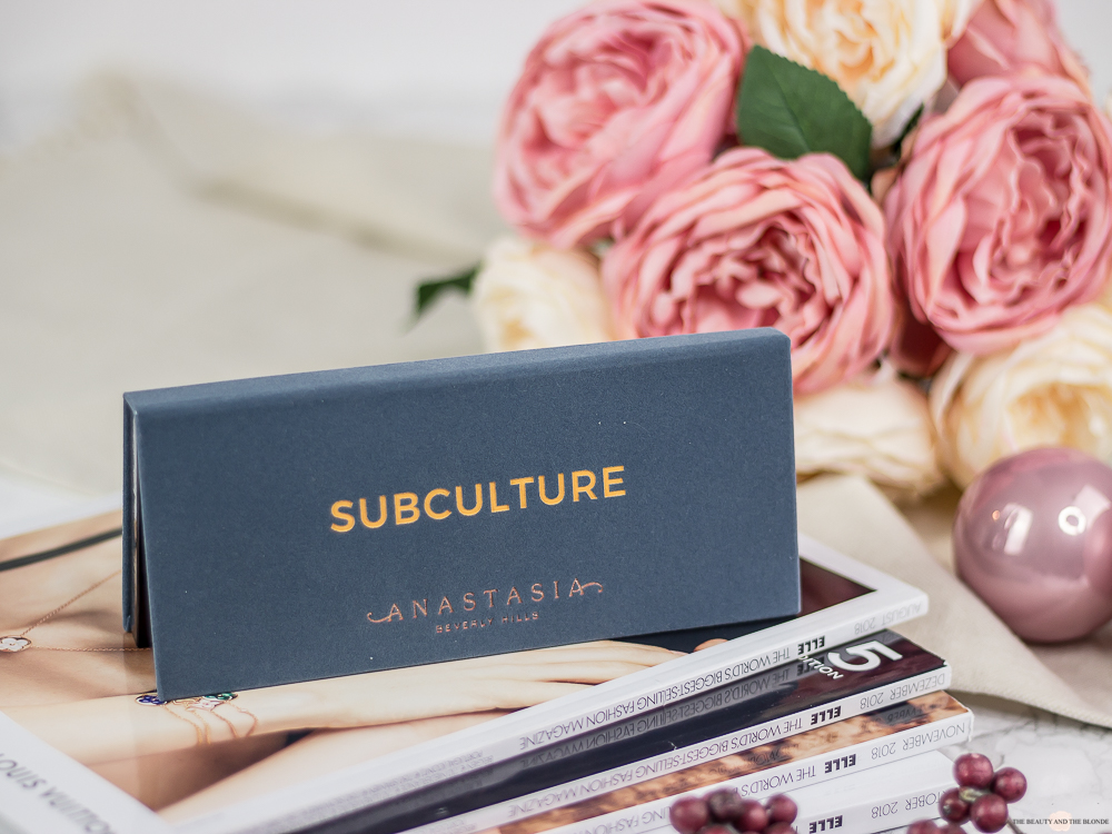 Subculture Palette Anastasia Beverly Hills ABH