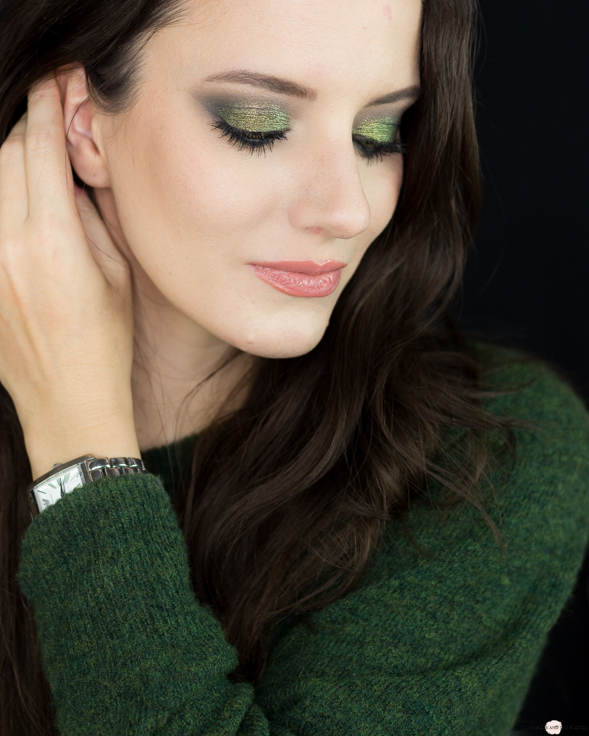 LOV Me First Palette Look Green Eyemakeup Makeup