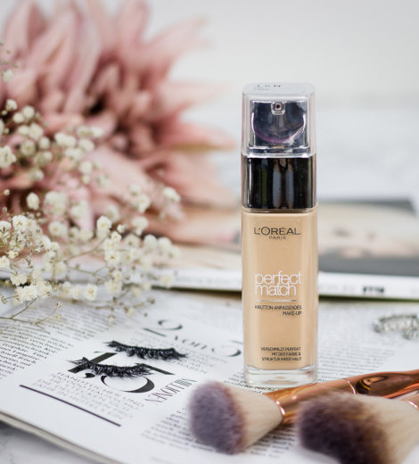 Mein neuer Drogerie Favorit? </br> Die L'Oréal Perfect Match Foundation