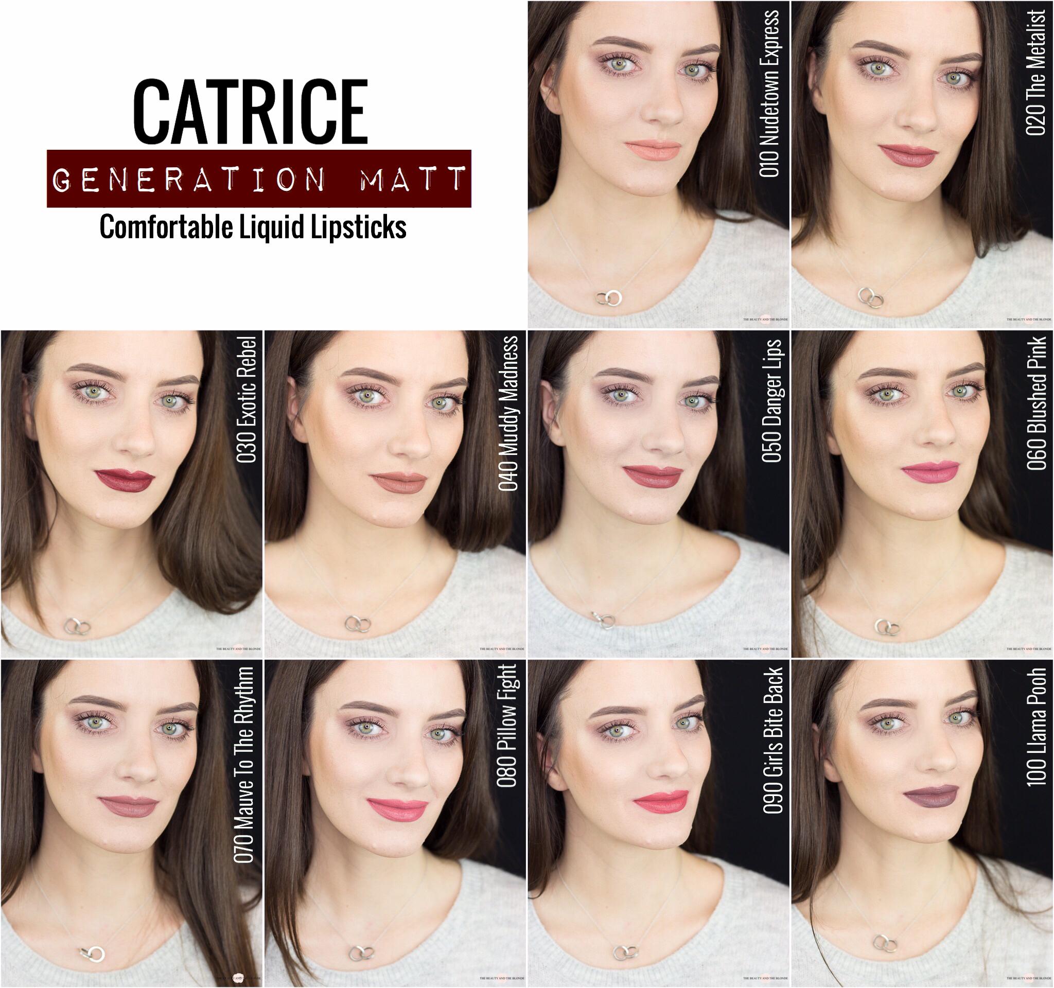 Catrice Generation Matt Liquid Lipstick Update Frühjahr Sommer 2019 Drogerie Review Swatches Tragebilder