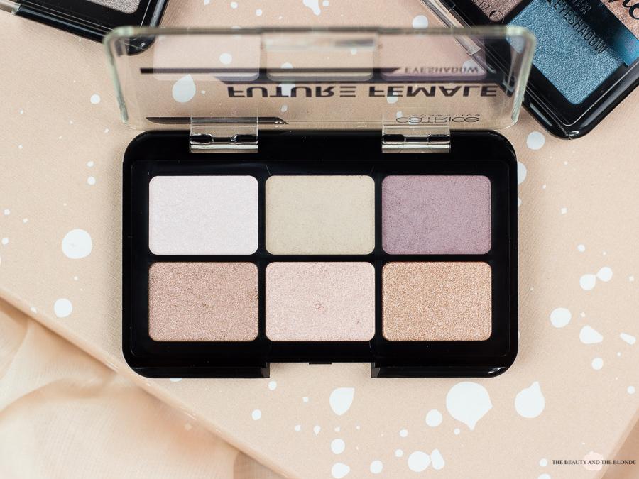 Catrice Palettes à porter Lidschatten Palette Future Female Drogerie Drugstore Review