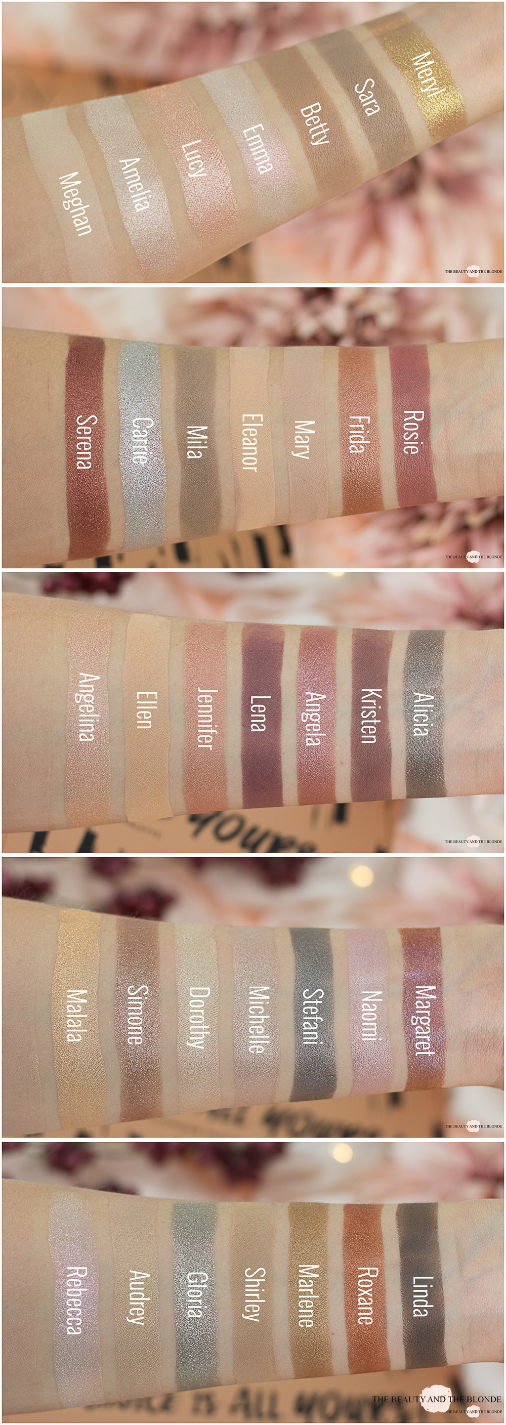 LOV The Choice Is All Yours Palette Swatches