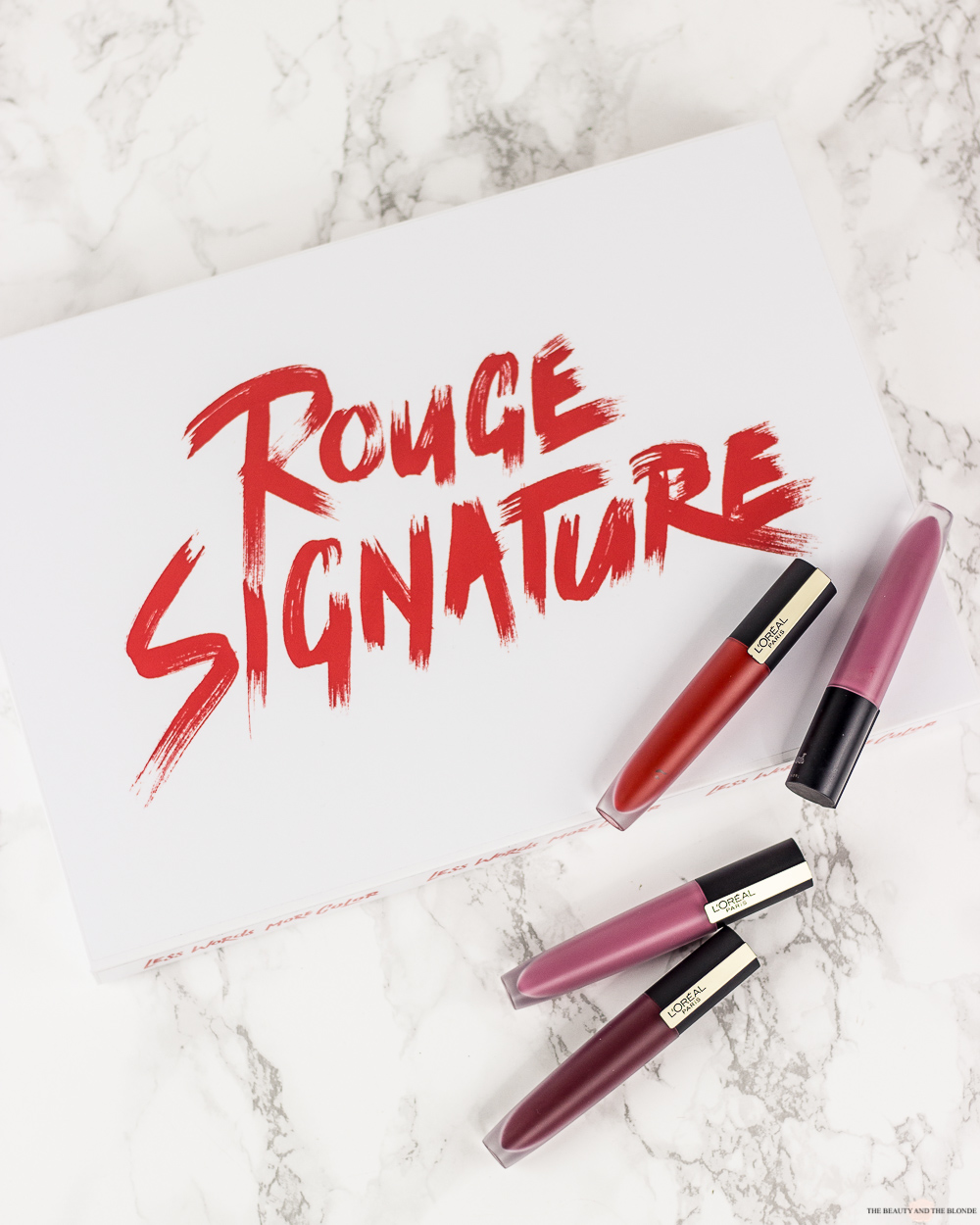 L'Oréal Rouge Signature Lipsticks Review Drogerie Erfahrung